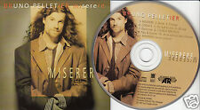 BRUNO PELLETIER Miserere (CD 1997) 11 Songs French Quebec Album FREE SHIPPING