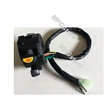 "Motorcycle 10 Wires ATV 7/8"" Handlebar Switch Turn Signal Headlight Start Fan"