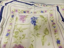 "NWT Valance - #153 Hydrangea - Donna Sharp – Cotton -15"" X 60"" -free ship"