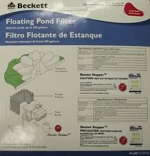 Beckett FL200  Floating Pond Filter Kit For Ponds Up To 200 Gallons