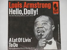 "LOUIS ARMSTRONG -Hello, Dolly! - Soundtrack- 7"" 45 OST"