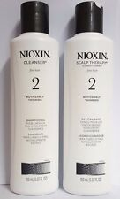 Nioxin System # 2 Cleanser Shampoo and conditioner 5.07 oz (new)