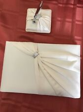 Wedding Guest Book And Pen Lillian Rose Ivory New