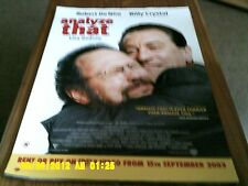 Analyze That (robert de niro, billy crystal, 15th september) Movie Poster A2