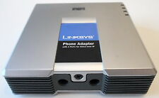 Lot of 2, Unlocked Cisco / Linksys PAP2 VoIP 2FXS Phone Adapter