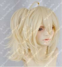 0010 Cosplay Wig+ponytail ZONE-00KISSHOU Casino mirror tone bell Light Blonde