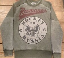 Amplified Ramones Rocket T Russia  Pullover Sweater Small, Medium, Large  Jumper