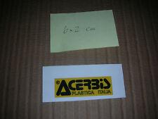 ACERBIS Aufkleber Sticker Adesivi Geländesport Vintage Motocross Six Days