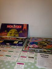 MONOPOLY SHREK Collectors Edition Board Game 2007 PARKER BROTHER Dream Works