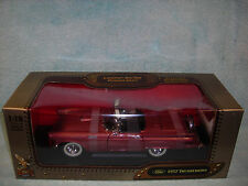 1/18 1957 FORD THUNDERBIRD IN BRONZE POLYIVORY TOP BY YAT-MING LEATHER SERIES..