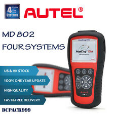Autel Maxidiag Elite MD802 For 4 System OBD2 Code Scanner Auto Diagnostic Tool