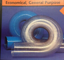 1-1/2''ID CVD CLEAR PVC HOSE/DUCTING WITH WIRE HELIX -20 TO +180''F''  # CVD 1-1