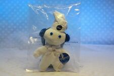 Pillsbury DOUGHBOY Mini Beanbag Magnet Dough Boy Earmuffs Soft Collectible NEW