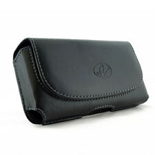 Leather Clip Case Pouch for Apple iPhone 5 FITS WITH OTTERBOX ARMOR CASE ON IT