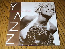 """YAZZ - WHERE HAS ALL THE LOVE GONE      7"""" VINYL PS"""