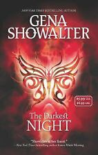 The Darkest Night by Gena Showalter *Lords of the Underworld* VG C (2013, PB)