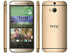 HTC One M8 - 32GB - Amber Gold (Unlocked) Smartphone 5.0 inches 4G LTE NFC
