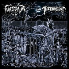 FUNEBRARUM / INTERMENT - Conjuration Of The Sepulchral  Split-CD