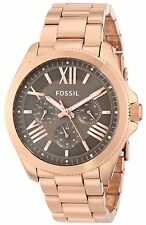 Fossil Women's Cecile AM4533 Rose Gold Stainless Steel Quartz Watch