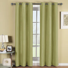 Soho Grommet Thermal-Insulated Blackout Polyester Window Curtain Panels (Single)