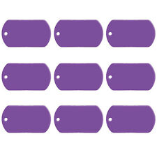 20pcs/lot Personalized Dog ID Tags Name Phone Customed Military Engraved Cat Tag