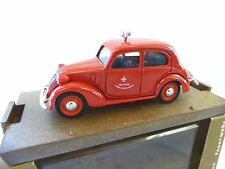 BRUMM 1:43 SCALE FIAT BERLINA FIRE SERVICE 63  [MINT AND BOXED]