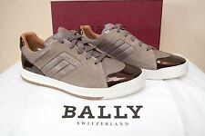 $550 NIB BALLY Oddy Leather Shoes Sneakers EU 10 US 11 FR 44