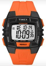 Timex Watch * T49902 Digital Indiglo Orange Silicone for Men COD PayPal