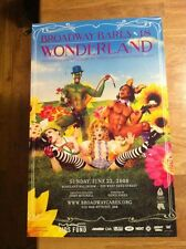 BROADWAY BARES Window Card Poster WONDERLAND 2008 -- Mint