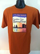 GARDEN CITY BREWFEST 2013 T-SHIRT SIZE: L, Short sleeve. MISSOULA MONTANA