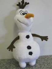 "OLAF SNOWMAN DISNEY FROZEN 9-10"" PLUSH SOFT TOY by POSH PAWS"
