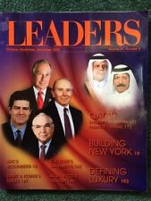 LEADERS MAGAZINE, DECEMBER 2008