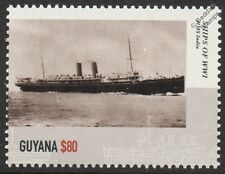 SS/HMS INDIA Liner / Armed Merchant 10th Cruiser Squadron WWI Warship Stamp