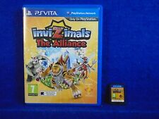PS VITA INVIZIMALS The Alliance Game Playstation PAL UK PSVITA