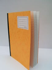 A4 Hard Backed Exercise Book 120 Pages Alternate 8mm Feints & Blank Brand New