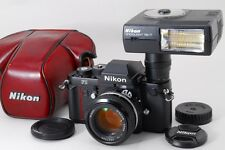 Exc+++++ Nikon F3 35mm SLR Film Camera w/ Ai-s 50mm f1.4 SB-17 CF-20 From Japan