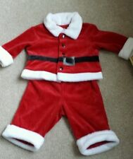 Cherokee Infant Baby Boys Santa Christmas 2 Piece Set Size 3 Months NWT