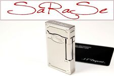 S.T. DUPONT ARABESQUE FEUERZEUG L2 LIGHTER PALLADIUM NEU