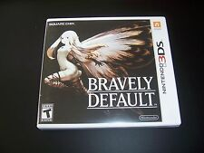 Replacement Case (NO GAME) BRAVELY DEFAULT Nintendo 3DS - 100% Original Box