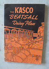 Vintage 1947 Booklet Kasco Mills Beatsall Dairy Plan for Dairy Farmers