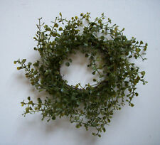 "BABY'S GRASS 10"" Candle Ring Wreath Fits 3"" Candles"