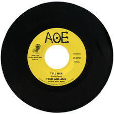 """FRED WILLIAMS AND THE JEWEL BAND  """"TELL HER""""   MONSTER TUNE    LISTEN!"""