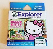 LeapFrog Hello Kitty Sweet Little Shops Learning Game LeapPad Leapster