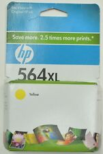 HP 564XL Single Yellow Ink Cartridge EXP 05/2010