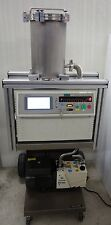 VARIAN 979 HELIUM MASS SPECTROMETER PORTABLE LEAK DETECTOR HLD, DS-302 PUMP,CART