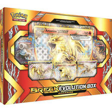 Pokemon Arcanine Break Evolutions Box New Sealed TCG FREE SHIPPING boosters pack