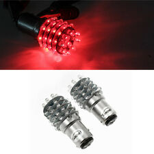 2x BAY15D 1157 P21/5W Red 45LED Car Rear Tail Stop Brake Signal Light Lamp Bulbs
