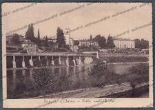 MILANO VAPRIO D'ADDA 03 FIUME ADDA - VILLE Cartolina viaggiata 1942