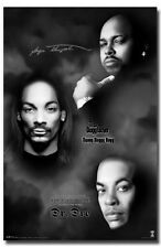 DEATH ROW COLLAGE POSTER Snoop Dogg Dr. Dre RARE NEW