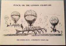 Crew (Rowing) Note Cards – Images from Punch Cartoons 1880s – Set of 4